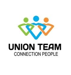 Union Team Design vector image vector image