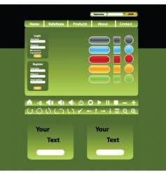 Website design vector