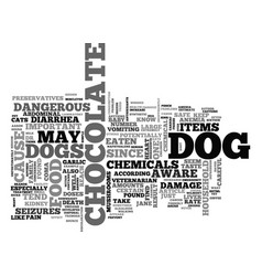 What you should never feed your dog text word vector