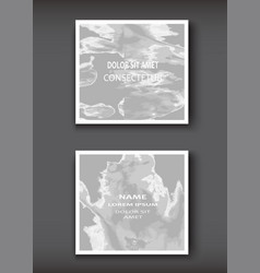 White grey gradient watercolor explosion shape vector