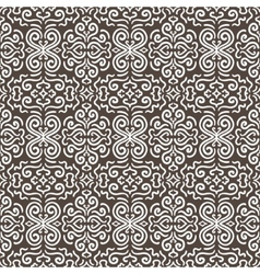 White fantasy contrast seamless pattern background vector