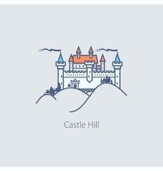 Castle Hill Design Element vector image