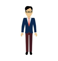 Man character template vector