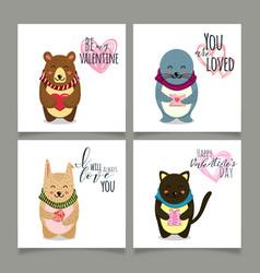valentine card - file eps10 vector image