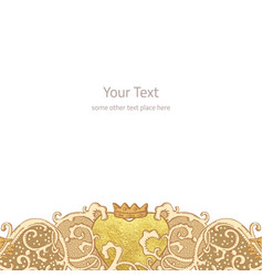 Wedding stationery background vector