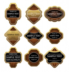 Set of gold labels vector