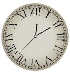 ancient clock vector image