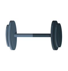 Dumbbell weight fitness equipment design graphic vector