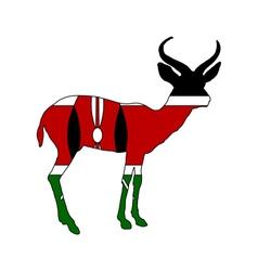 Kenya antelope vector