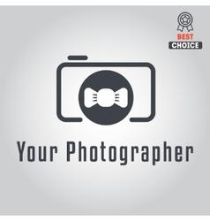 Logo badge emblem or label for photograph vector image