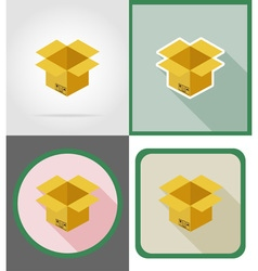 Delivery flat icons 04 vector