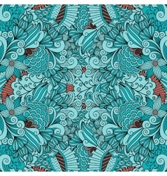 Beautiful background composed of geometric designs vector