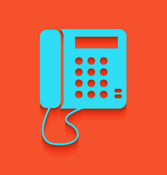 communication or phone sign whitish icon vector image vector image