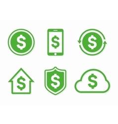 Dollar logo dollar icon dollar vector