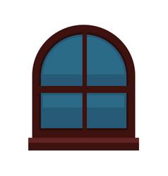 Interior window isolated vector