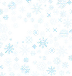 Christmas Winter Frame vector image
