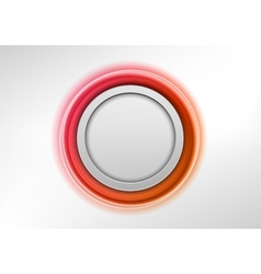 Circle red vector