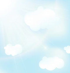 Abstract blue sky backgrounds vector
