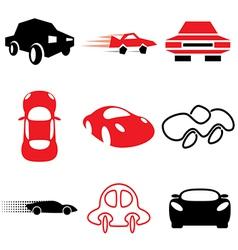 Logo icons car vector