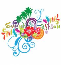 fashion logo vector image