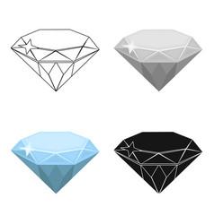 Gem diamond a valuable prize in the casinokasino vector