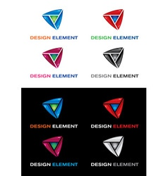 graphic elements vector image