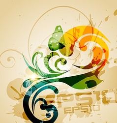 grunge style background vector image vector image