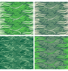 Hair backgrounds vector image vector image