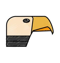 Hawk icon image vector