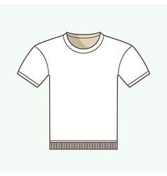 T-shirt Mockup vector image