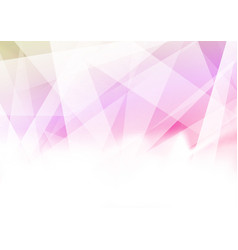 triangular abstract geometrical bright colorful vector image vector image