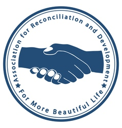 Association for Reconciliation and Development vector image