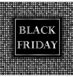 Black friday sale background with mosaic vector