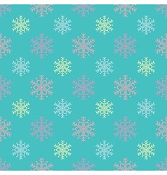 Candy snowflakes pattern vector