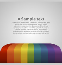 Colour abstract background vector
