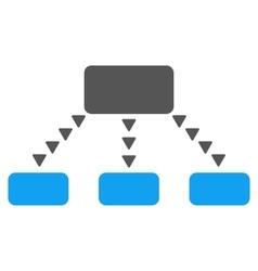Dotted scheme flat symbol vector