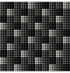 Seamless black and white abstract geometric vector