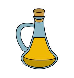 spa oil massage bottle vector image