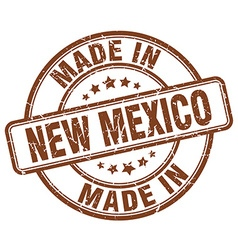 Made in new mexico vector