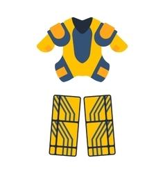 Hockey cloth set vector image