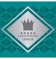 Champions league design vector