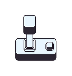 console gamepad device vector image vector image