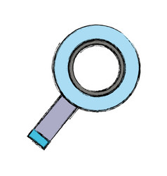 Magnifying glass to exploration and search of vector