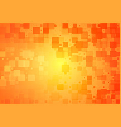 Red orange yellow glowing various tiles background vector