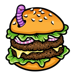 Sandwich worm vector