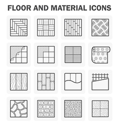 Floor icon vector