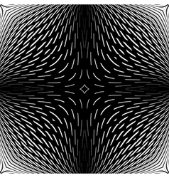 Design monochrome abstract backdrop vector