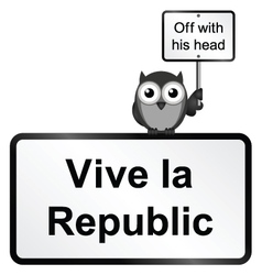 Republic vector image vector image