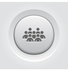 Standing out icon business concept vector