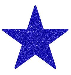 Star icon grunge watermark vector